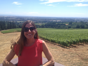 Visiting Oregon wine country - loved it!