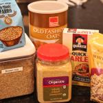 Baby food pantry essentials