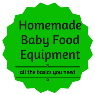 Homemade baby food: Equipment recommendations