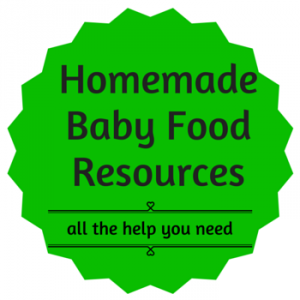 homemade baby food resources