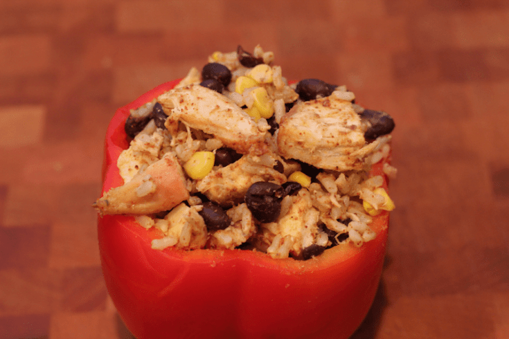 These easy slow cooker bell peppers turn out beautifully.