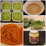 Homemade baby food: Round 1