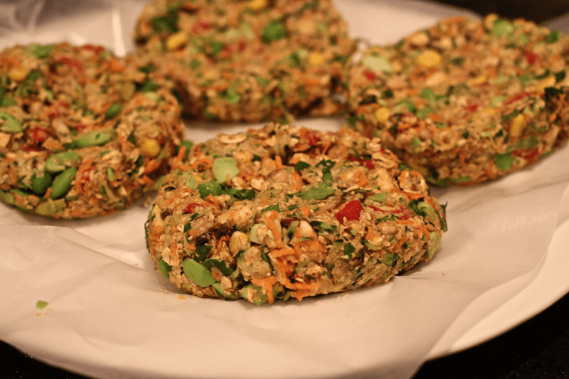 Veggie-packed veggie burgers - Family Food on the Table