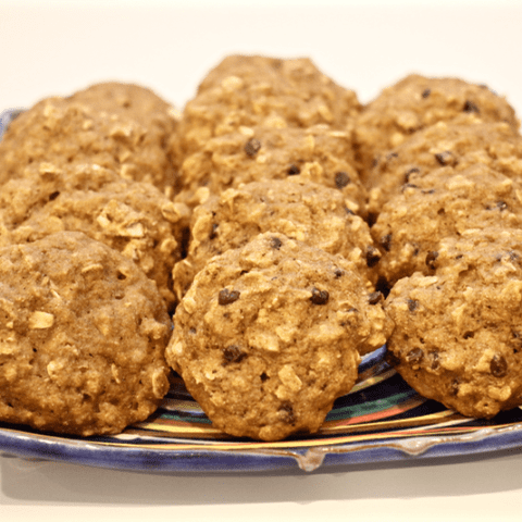 Banana oat cookies | FamilyFoodontheTable.com