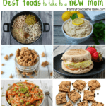Best recipes to take to a new mom