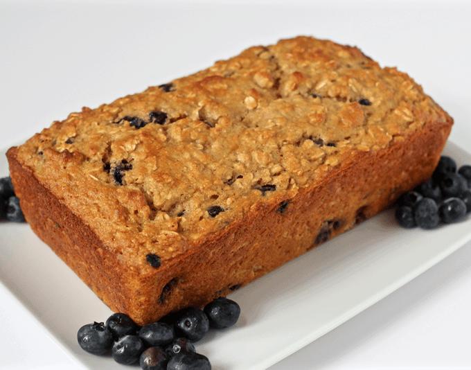 Blueberry yogurt bread | FamilyFoodontheTable.com
