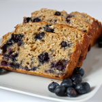 Blueberry yogurt bread | FamilyFoodontheTable.com