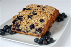 Blueberry yogurt bread