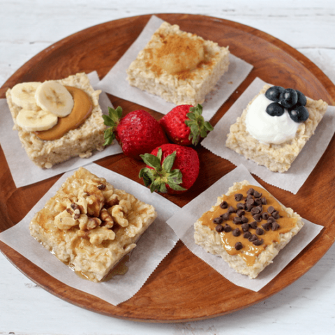 Breakfast oatmeal squares | FamilyFoodontheTable.com