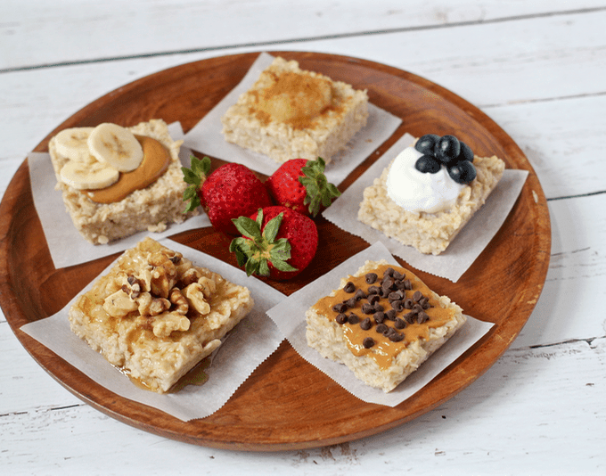 Breakfast oatmeal squares | FamilyFoodontheTable.com