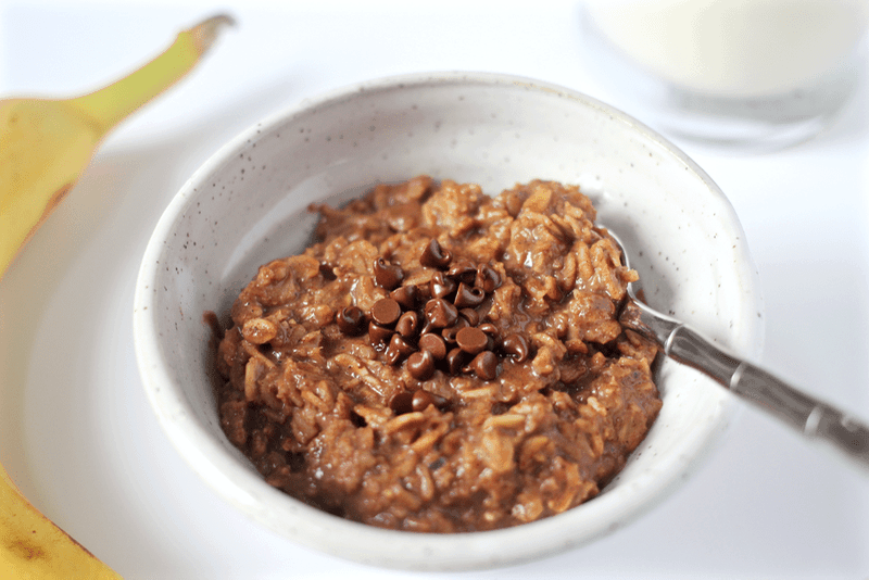 Chocolate breakfast oatmeal