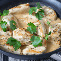 Easy creamy chicken