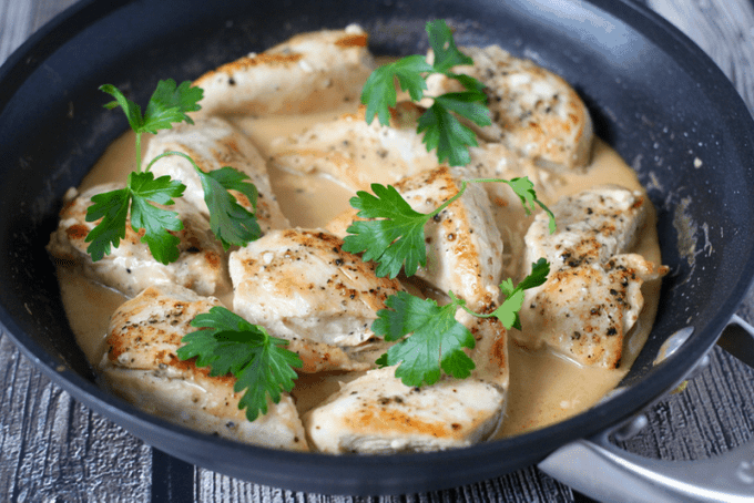 Easy creamy chicken