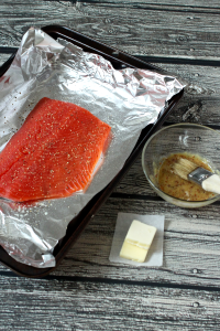 Easy honey-dijon salmon