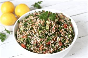 Tabbouleh salad | FamilyFoodontheTable.com