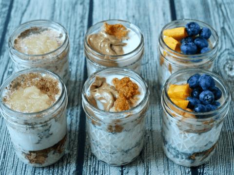 Overnight Oatmeal Jars 3 Ways Video Family Food On The Table