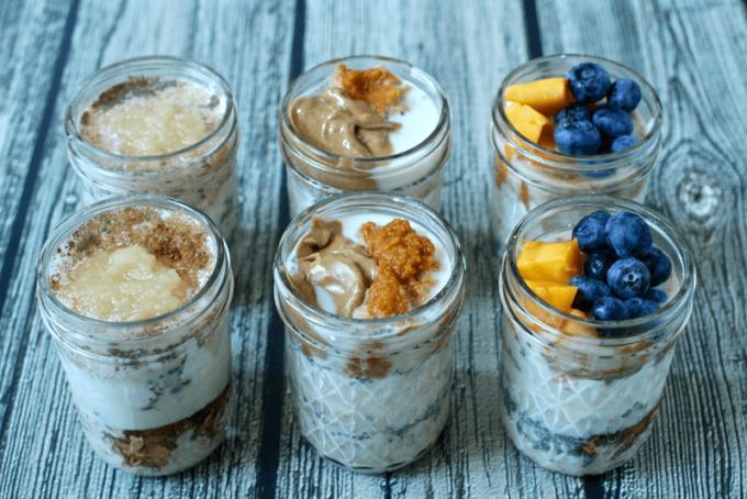 Overnight oatmeal jars, 3 ways | Family Food on the Table