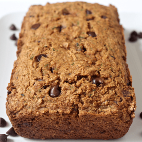 Chocolate chip zucchini bread | FamilyFoodontheTable.com