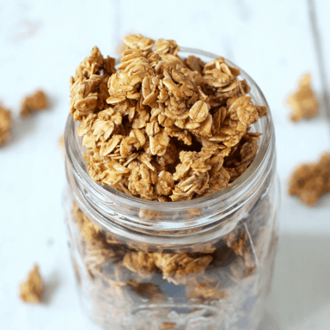 5-ingredient homemade granola
