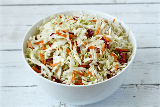how to make your own coleslaw mix