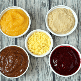 Homemade baby food: Round 6
