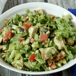Southwestern chopped salad with chicken (+ video)
