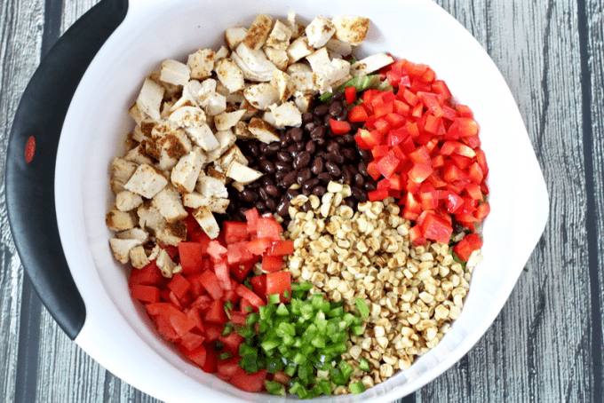 Southwestern chopped salad | Family Food on the Table