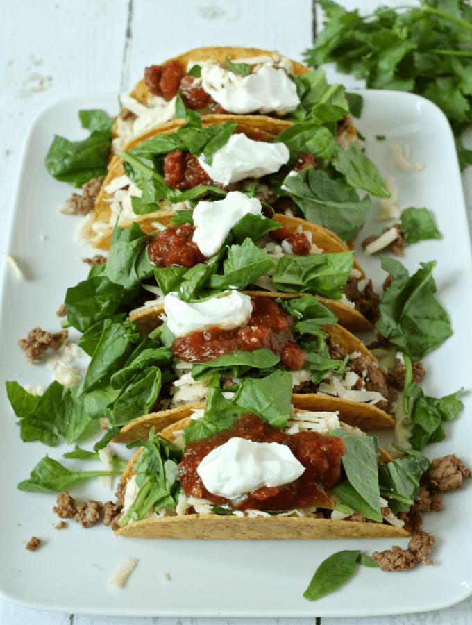 Turkey tacos | FamilyFoodontheTable.com