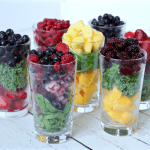 Fruit mixes for yogurt