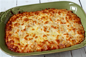 Baked quinoa Caprese casserole | FamilyFoodontheTable.com