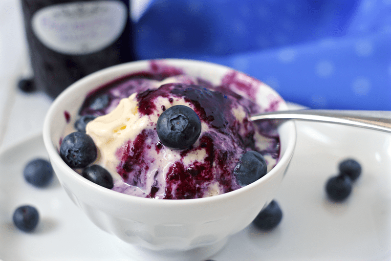 Homemade Blueberry Sauce Recipe — Dishmaps