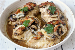 Chicken breasts Lombardy | FamilyFoodontheTable.com