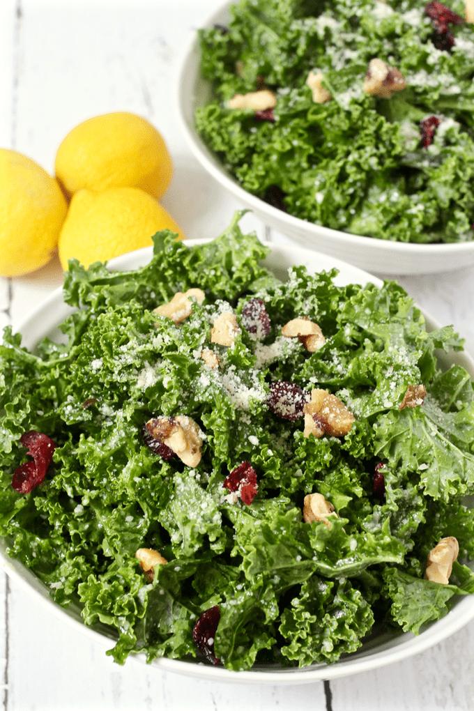 Citrus kale salad | FamilyFoodontheTable.com