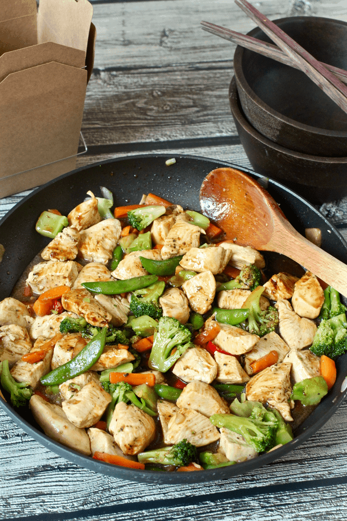 Easiest Ever Chicken Stir Fry Video Family Food On