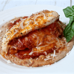 Pizza stuffed chicken