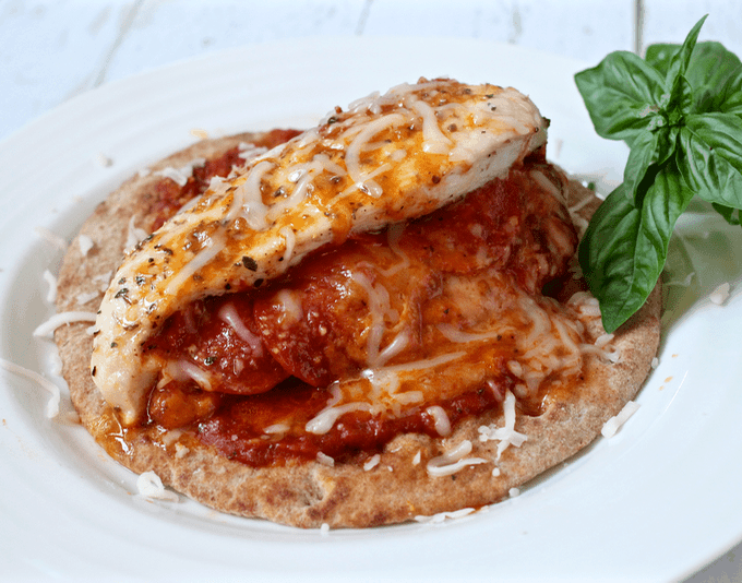 Pizza-stuffed chicken breasts   FamilyFoodontheTable.com
