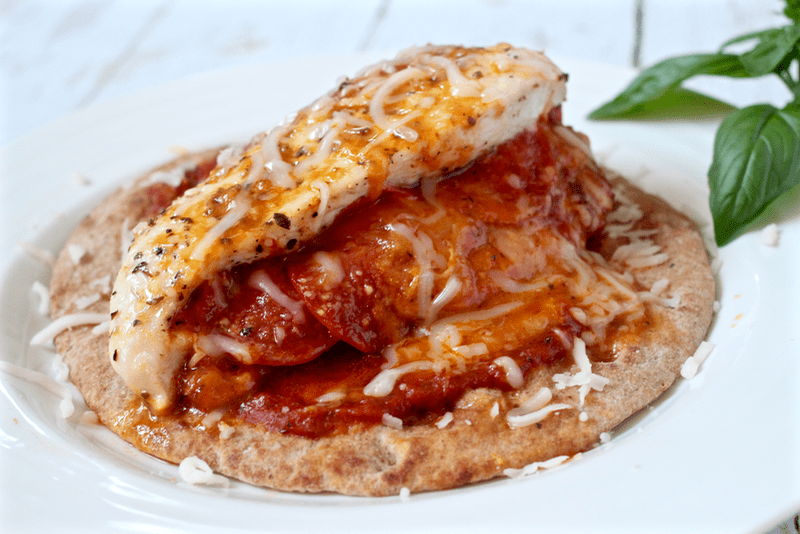 Pizza stuffed chicken - Family Food on the Table