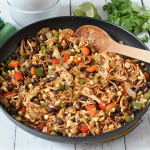 Southwest chicken skillet dinner