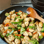 Easiest ever chicken stir fry (+ video)