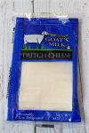 Goat cheddar cheese