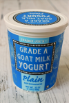 Goat milk's yogurt