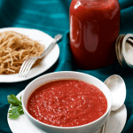 Homemade spaghetti sauce (+ video)