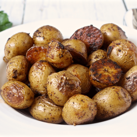 Paprika roasted potatoes