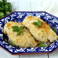 Easy crunchy baked chicken