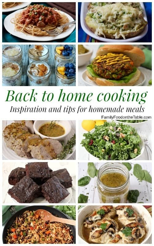 Easy home cooking - Inspiration and ideas for making homemade meals! | FamilyFoodontheTable.com