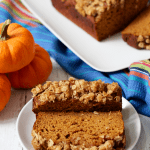 Whole wheat pumpkin applesauce bread (+ video)