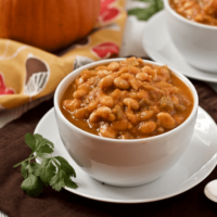 Vegetarian pumpkin chili
