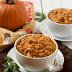 30-minute vegetarian pumpkin chili