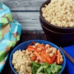Quinoa and veggie Buddha bowl