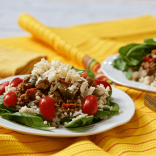 Healthy turkey taco salad | FamilyFoodontheTable.com